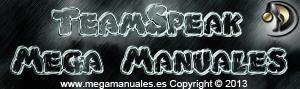 Logo TeamSpeak Mega Manuales